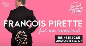 FRANCOIS PIRETTE – 18/02/2018 à 17h